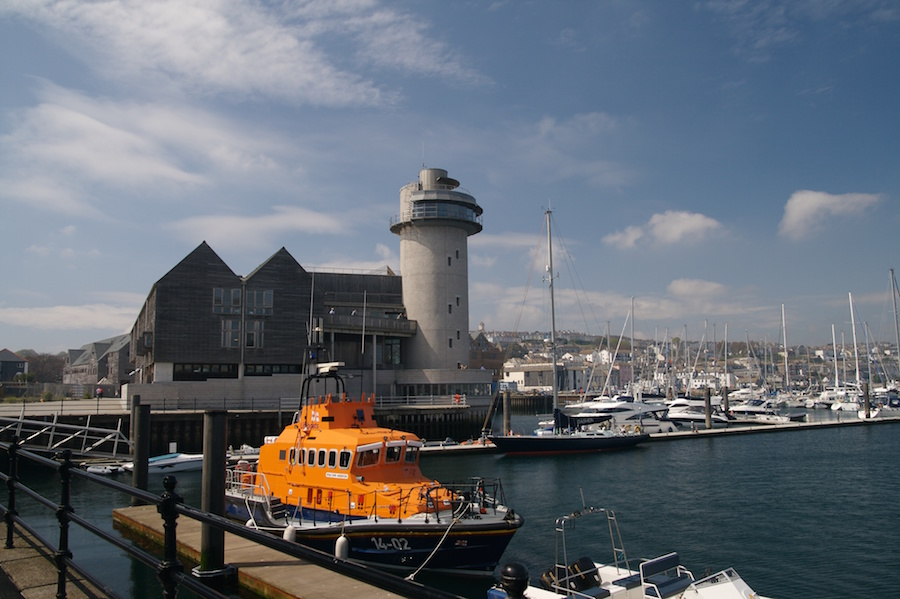 Falmouth harbour and maritime museum